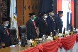 Dengan protokol kesehatan, DPRD gelar paripurna mendengarkan pidato kenegaraan Presiden