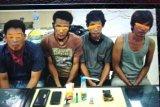 4 pengedar sabu ditangkap di kampung tangguh anti narkoba di Kota Jambi