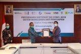 Konsisten terapkan GCG, PLN raih sertifikat anti manajemen penyuapan ISO 37001