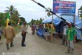 Kapolres Waropen resmikan Kampung Tangguh Papeda Sawara Jaya SP VI