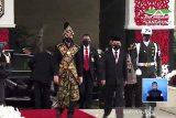 Di Sidang Tahunan MPR Jokowi gunakan baju adat Sabu