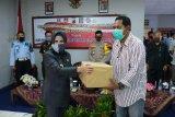 41 warga binaan asimilasi dapat bantuan sembako dari  Forpimda Kota Magelang