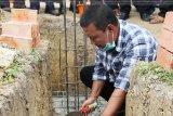 Bupati Tanjabtim letakkan batu pertama pembangunan Mesjid Nurul Iman