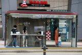 Seoul punya halte bus khusus, pelindung hujan dan COVID-19