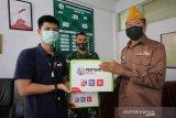 Pertamina MOR VII bagikan 200 paket safety kit dan Sembako ke Veteran RI