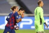 Luis Suarez resmi pindah dari Barcelona ke Atletico Madrid