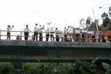 Jelang HUT ke-75 Kemerdekaan RI,  ribuan ekor burung dilepasliarkan