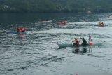 Kodim 1301 Sangihe gelar lomba perahu di pelabuhan Tahuna