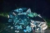 Kecelakaan maut renggut tiga nyawa pengendara mobil di Dusun Rantau Keloyang