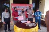 Polres Jayawijaya tangkap dua pemasok sabu seharga Rp100 juta