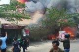 Kebakaran tiga titik di Kota Makassar hanguskan 19 rumah