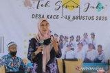 Ketua Dekranasda Babel luncurkan produk Teh Seraje Desa Kace