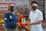 Bupati Barito Utara sambut tim Ekspedisi Merah Putih Polda Kalteng