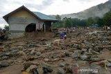 Korban banjir bandang di Sigi  masih takut tinggal di rumah