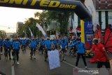 Gubernur Jateng Ganjar Pranowo lepas 50 dokter jalani Tour de Borobudur 2020