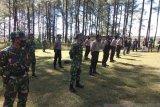 Polri-TNI tegakkan disiplin protokol kesehatan di perkemahan Lembanna Malino