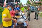 Sambut Dirgahayu RI, Koramil Lahei gelar lomba masak
