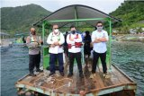 Menteri PPN canangkan Taman Laut Olele wisata sadar protokol kesehatan