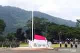 Upacara HUT ke-75 Kemerdekaan RI di Kabupten Sangihe hanya dihadiri TNI-Polri
