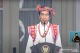 Makna baju adat yang dipakai Jokowi saat upacara HUT RI