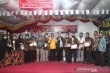 Warga Baturaja isi kemerdekaan  dengan menghias kampung