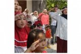 Begini cara Zaskia Adya Mecca gelar upacara 17 Agustus