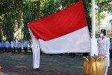 Petugas dan peserta upacara HUT RI di Mataram diwajibkan gunakan masker