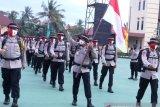 Tim Polda Sumatera Selatan sukses kibarkan  merah putih di Gunung Dempo