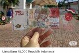 BI menambah kuota penukaran uang kertas Rp75.000 jadi dua kali lipat