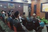 Dandim Muara Teweh hadiri  upacara  penurunan bendera di Murung Raya