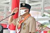 Gubernur Sulsel terima Penghargaan Lencana Melati dari Gerakan Pramuka