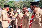 Tokoh Sulsel mendapatkan penghargaan Satyalancana Pramuka