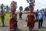 Upacara Kemerdekaan RI di Minahasa Tenggara bertemakan adat