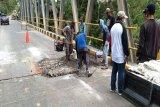 Gubernur langsung gerakkan PUPR Kalteng perbaiki jembatan rusak di Pulpis