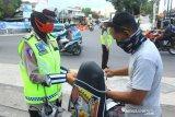 Polresta Mataram mengaktifkan pos pemeriksaan protokol kesehatan