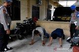Provos Polda Jambi sidak protokol kesehatan terhadap anggota Polri