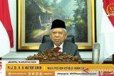 Wapres Ma'ruf Amin hadiri peringatan Hari Konstitusi 2020 secara virtual