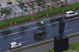 Sebagian wilayah Jakarta diperkirakan hujan ringan