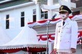 HUT Kemerdekaan RI, Wabup Bantaeng pimpin upacara penurunan bendera Merah Putih