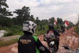 ACT Sumsel salurkan paket  pangan ke Desa Saluran Kabupaten Banyuasin
