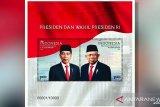 Kementerian Kominfo luncurkan prangko seri Jokowi dan Ma'ruf Amin
