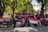 Gelar Rolling City Kemerdekaan, CMC Kunjungi TMP Kairagi dan Bersihkan Pantai Malalayang