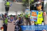 Polres OKU kampanyekan pencegahan COVID-19  menggunakan papan bicara