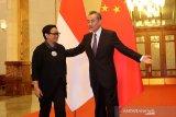 Menlu Wang Yi tegaskan Indonesia-China akan bekerja sama kalahkan virus