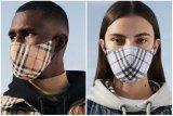 Burberry hadirkan masker kain dengan motif ikonik
