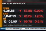 Saham Prancis turun dengan Indeks CAC 40 jatuh 1,33 persen