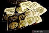 Harga emas turun 7,8 dolar AS menyusul penguatan saham-saham Wall Street