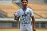 Mario Jardel, pemain muda Persib Bandung tak ingin bergantung pada regulasi U-20