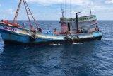 Dua kapal   pencuri ikan berbendera Vietnam ditangkap di Laut Natuna Utara