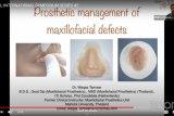 Ahli gigi ungkapkan pentingnya teknologi prostetik maksilofasial